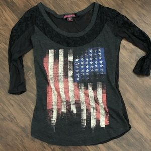 Rock & Roll Cowgirl top